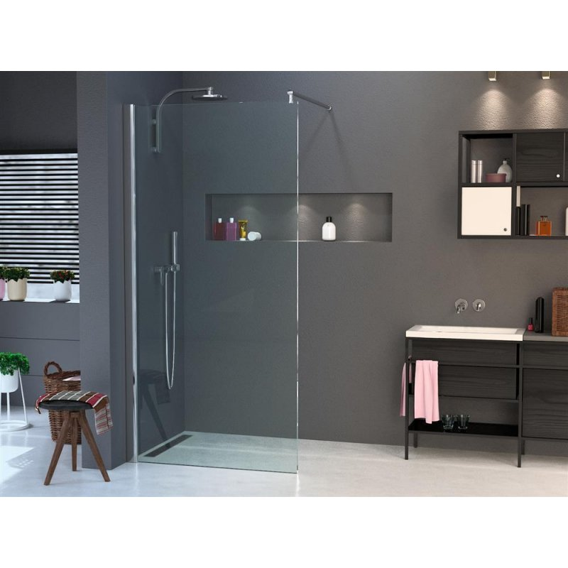 walk in dusche nano esg 10mm in vielen designs 2000mm x 900mm klar du. Black Bedroom Furniture Sets. Home Design Ideas